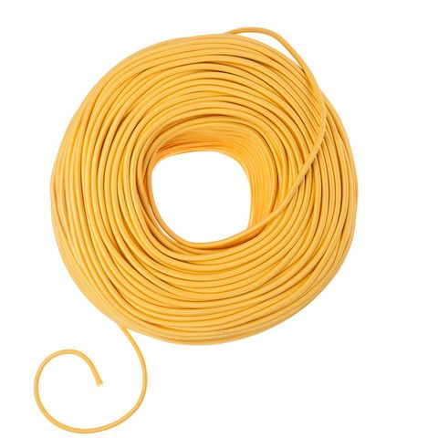 Diy Fabric Wire By The Foot Sunshine Yellow Diy Fabric Things To Sell Diy Pendant Light