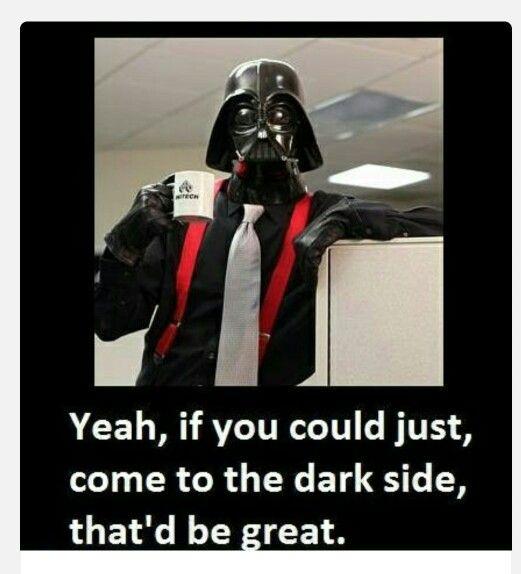 Office Space Star Wars Memes Star Wars Humor Star Wars Office