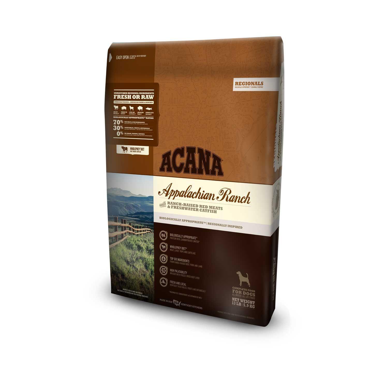 Acana Dog Food Regionals Applachian Ranch Acana Dog Food Dry