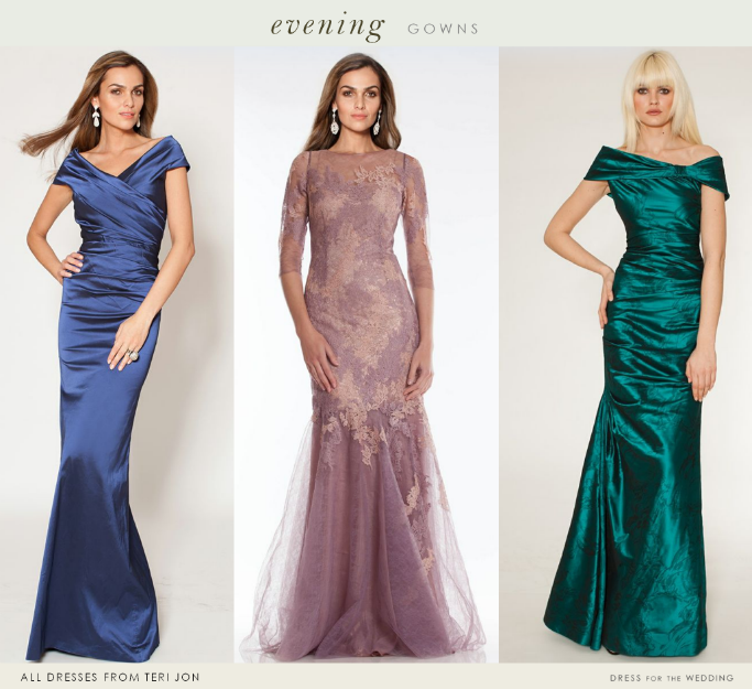Elegant Dresses for the Mother of the Bride and Wedding Guests ...