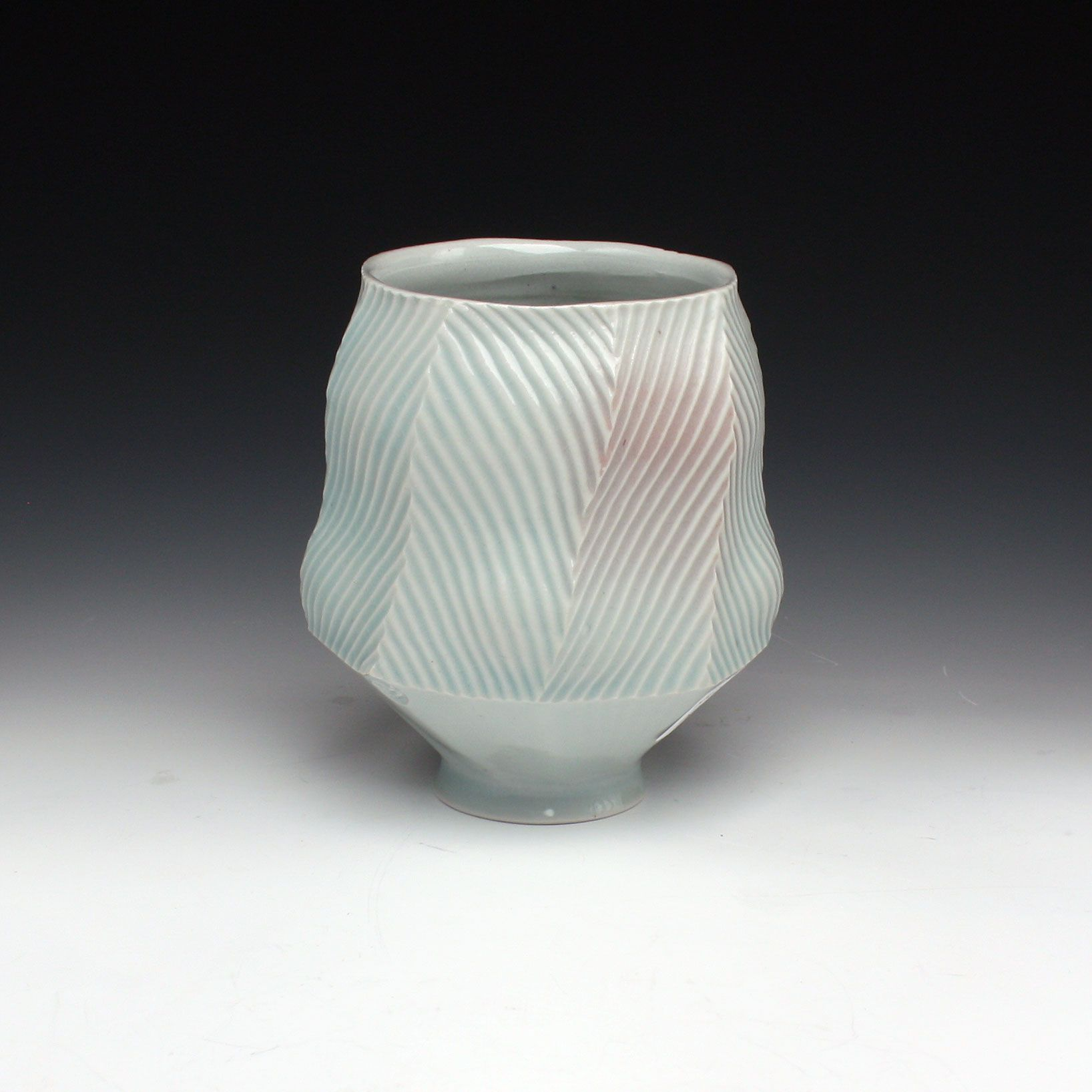 Beautiful glaze, texture, & shape // Red Lodge Clay Center | Steven Roberts