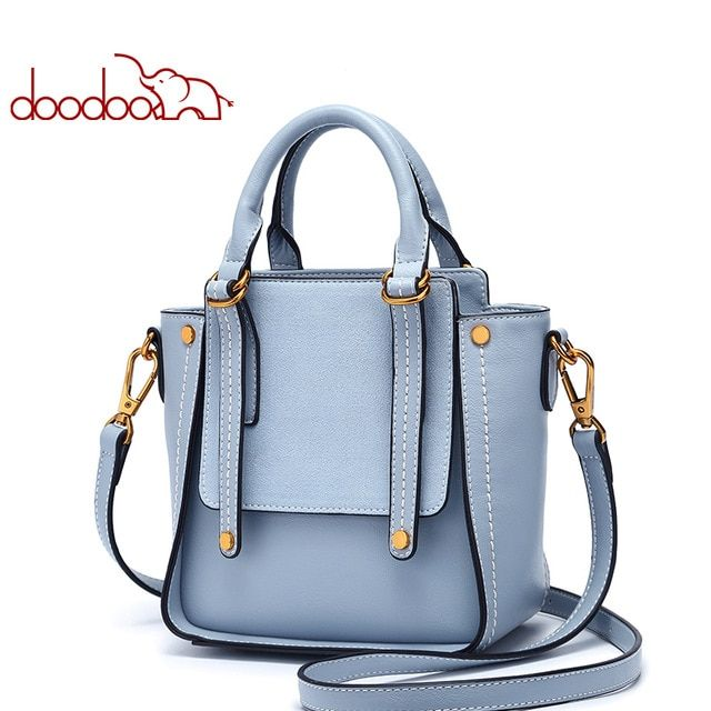8c1949c477 DOODOO Women Pu Leather Handbag Luxury Handbags Women Bags Designer Female  Shoulder Crossbody Bags Ladies Top-handle Tote Bag Review