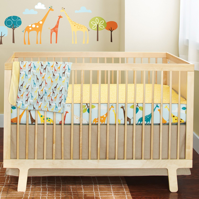 Skip Hop Complete Sheet Bumper-free Crib Bedding Set ...