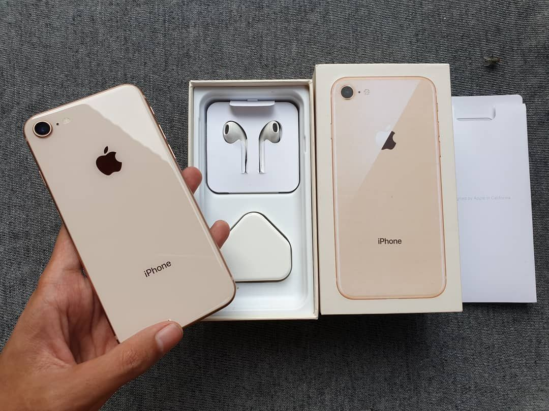 Get All Apple Products For Free Iphone 8 Gold 64gb Like New Iphone 8 Gold 64gb Like New Noken Dan Mulus Ex Intern Iphone Free Giveaway Electronic Products