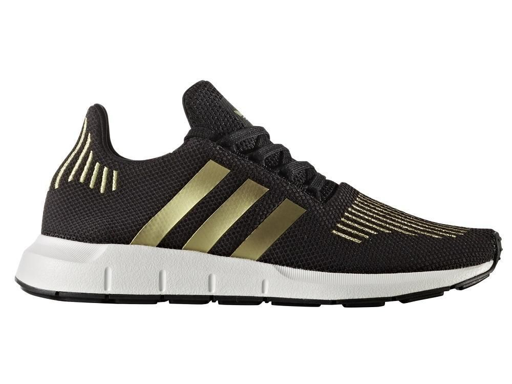 Buy adidas Swift Run Womens Black / Gold online – West Brothers ...