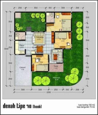 Desain Rumah Modern 3 Kamar Tidur Rumah Minimalis Www