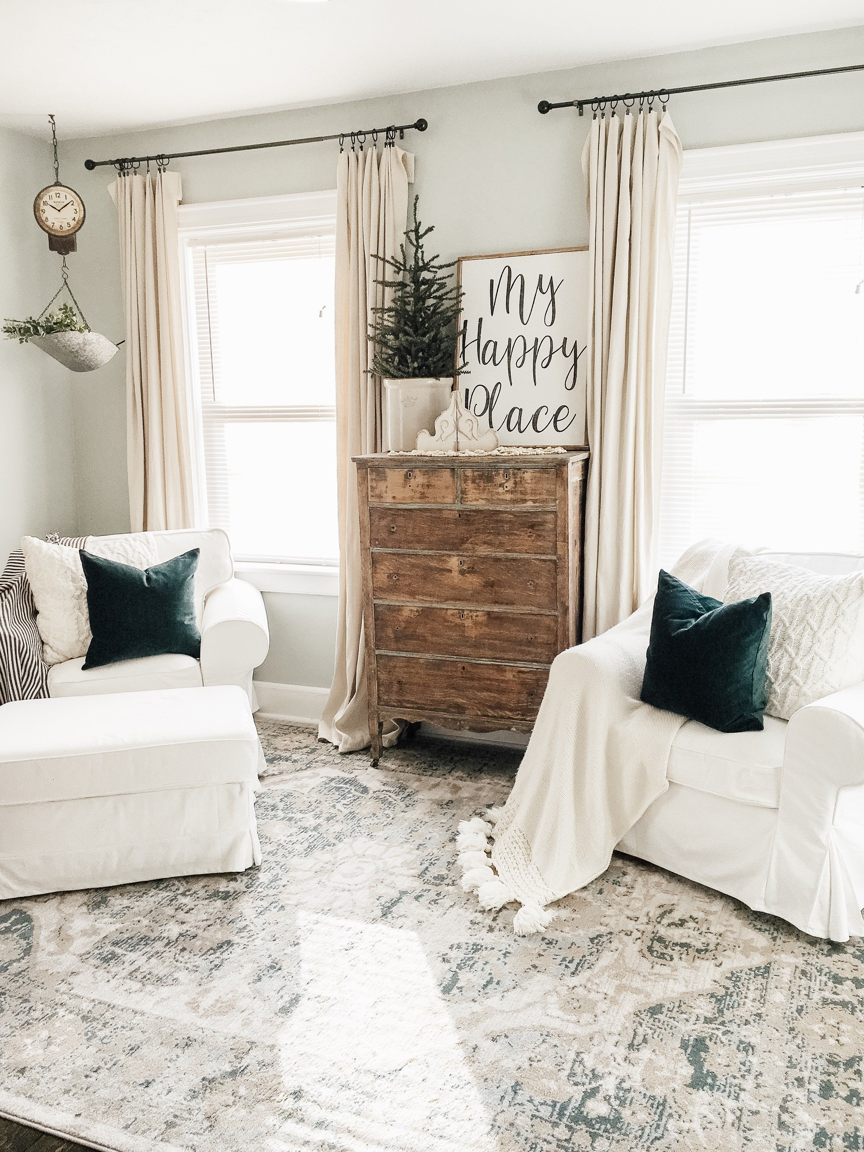 Simple Winter Living Room Tips On How To Transition From
