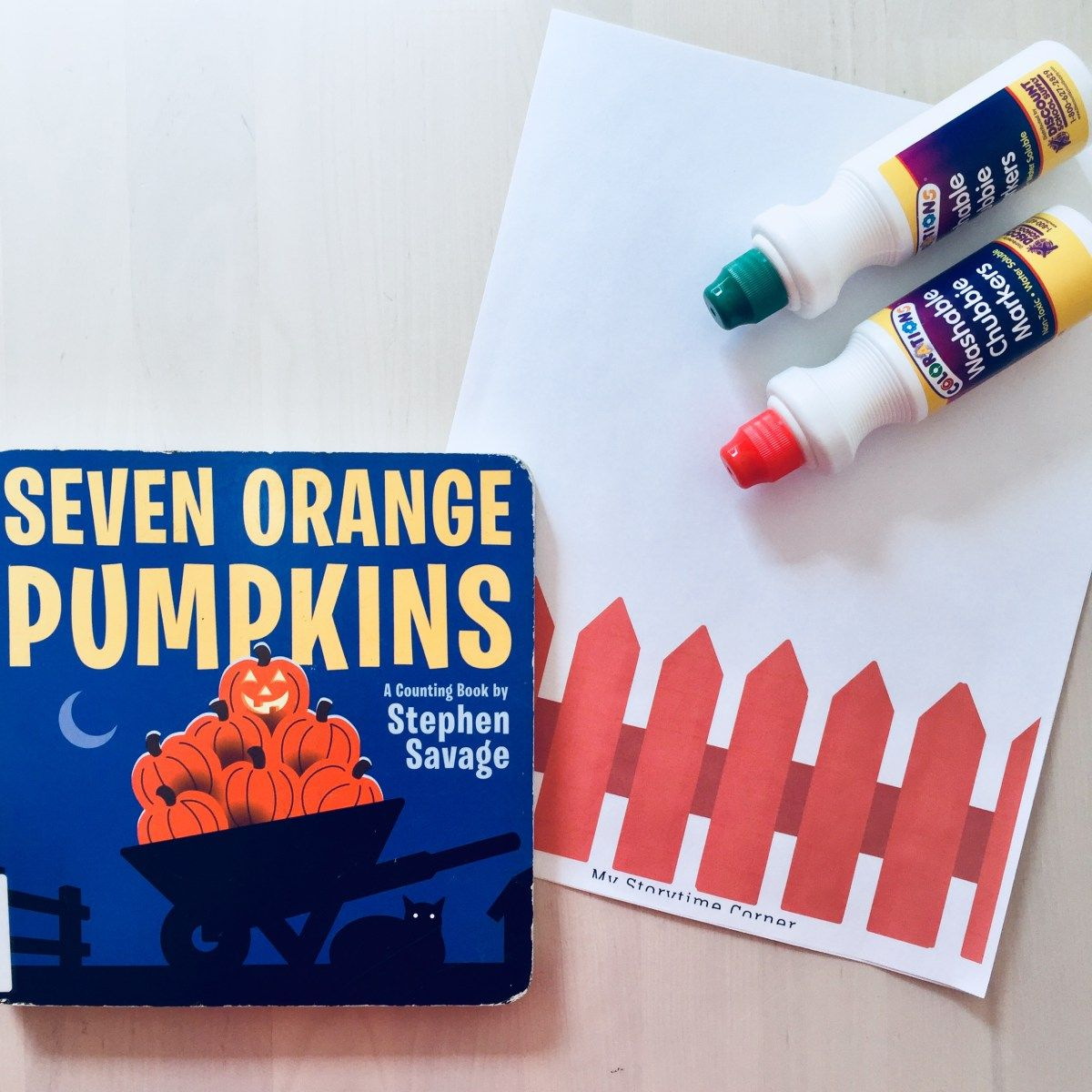 5 Little Pumpkin Story Time For Preschoolers With Dabber