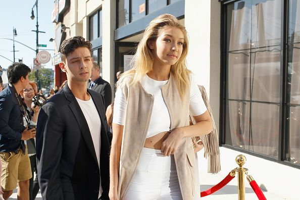 Gigi Hadid attends the KIA STYLE360 Hosts Serena Williams Signature Collection By HSN on September 15 2015 in New York City