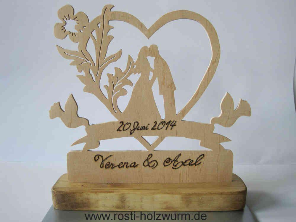 Hochzeitsgeschenk  Holz  Geschenke Geschenk hochzeit