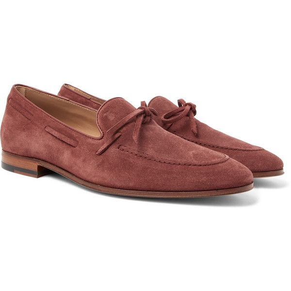 Loafers for Men On Sale, Beige, suede, 2017, 6 8 Tod's