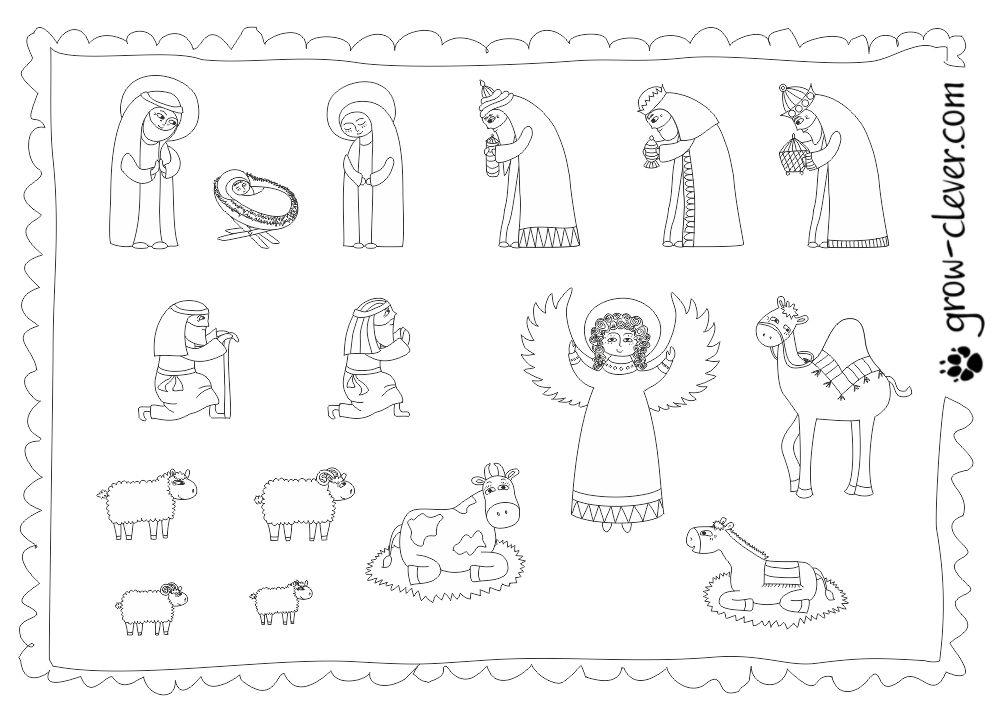 узнают рождественский вертеп картинки для печати чаще встречаются котят