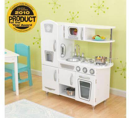 Kidkraft Große Küche 53181 | 53208 White Vintage Kitchen
