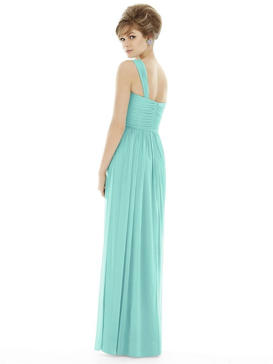 Layers of chiffon comprise the breezy a line silhouette of dessy layers of chiffon comprise the breezy a line silhouette of dessy alfred sung d691 bridesmaid ombrellifo Choice Image