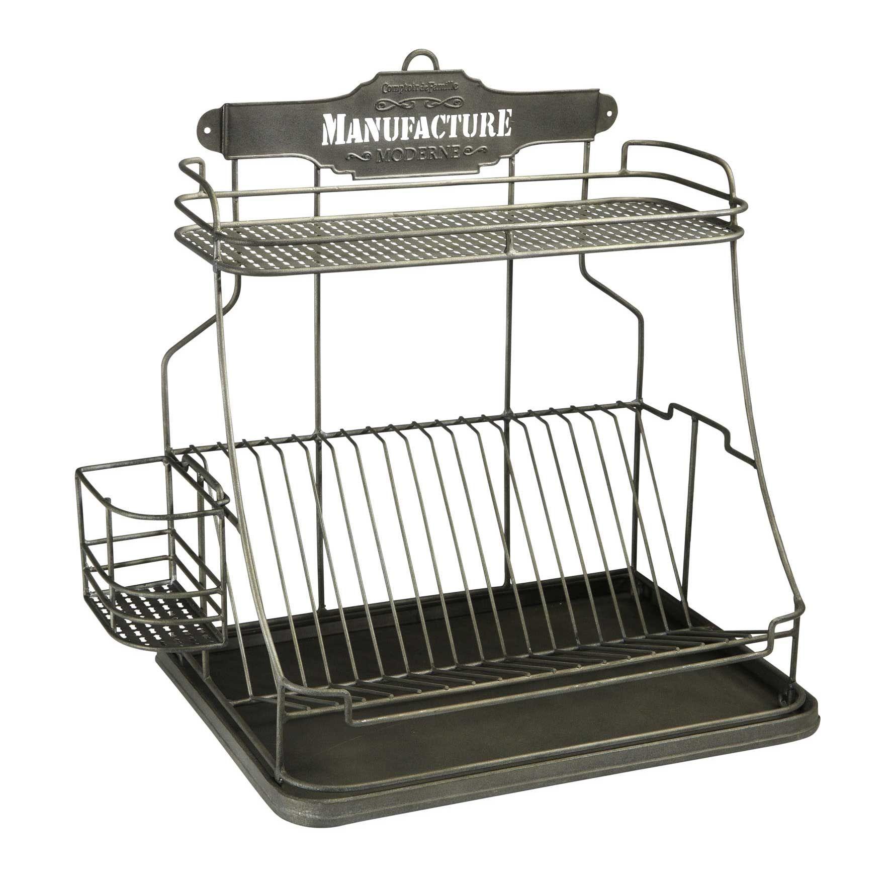 egouttoir vaisselle manufacture moderne par comptoir de famille chez delamaison ambiance. Black Bedroom Furniture Sets. Home Design Ideas