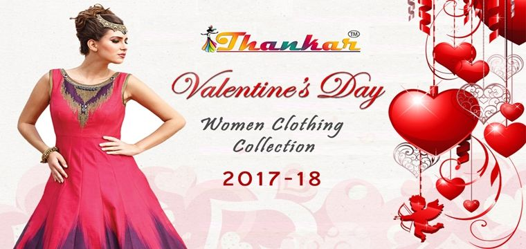 valentine day women clothing trends 2017-2018 in india at thankar, Ideas