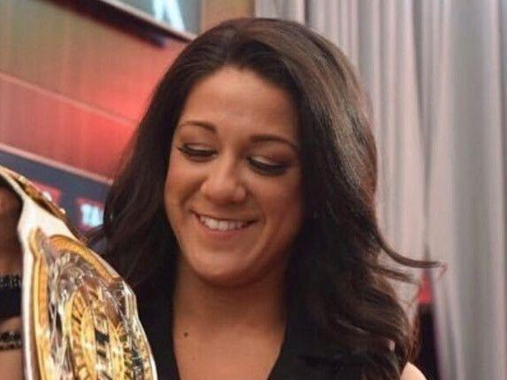 Bayley One Half Of Women Tag Team Champion Bayley Female