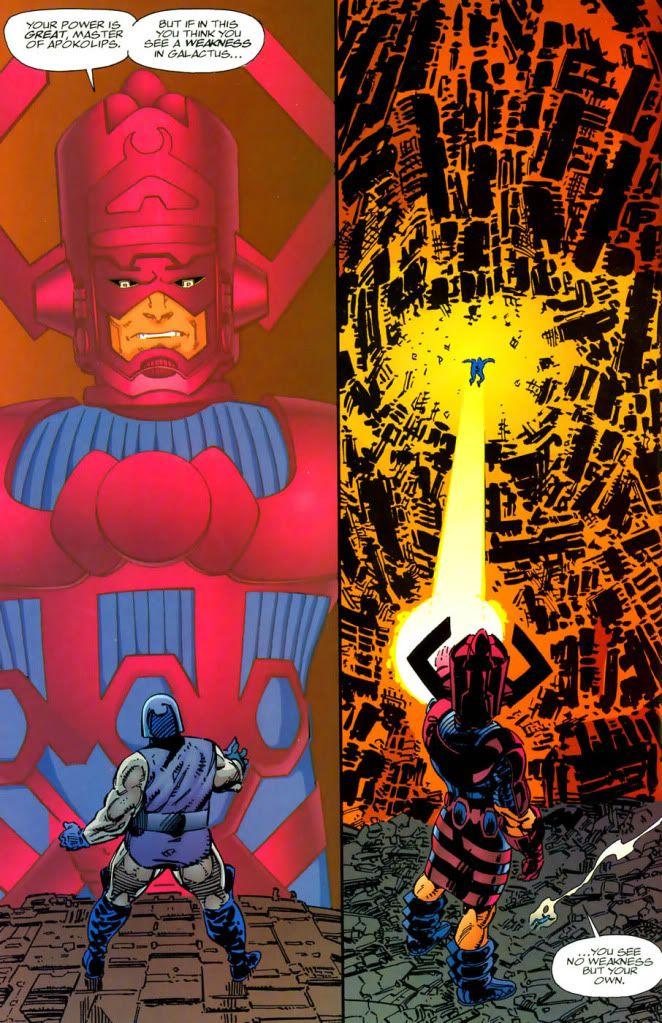 Thanos vs Galactus   Thread: Darkseid and Thanos vs ...