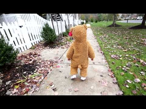 Cute Little Bear for Halloween - She's so fluffy I'm gonna die!