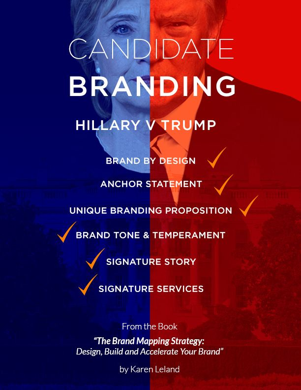 6 branding lessons salons can learn from the presidential candidates  #marketing #salon #beautybiz