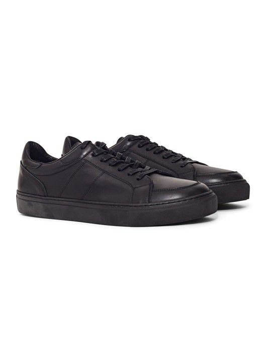 d1ce567823a1 Garment Project Off Court Trainer Black - ON SALE NOW