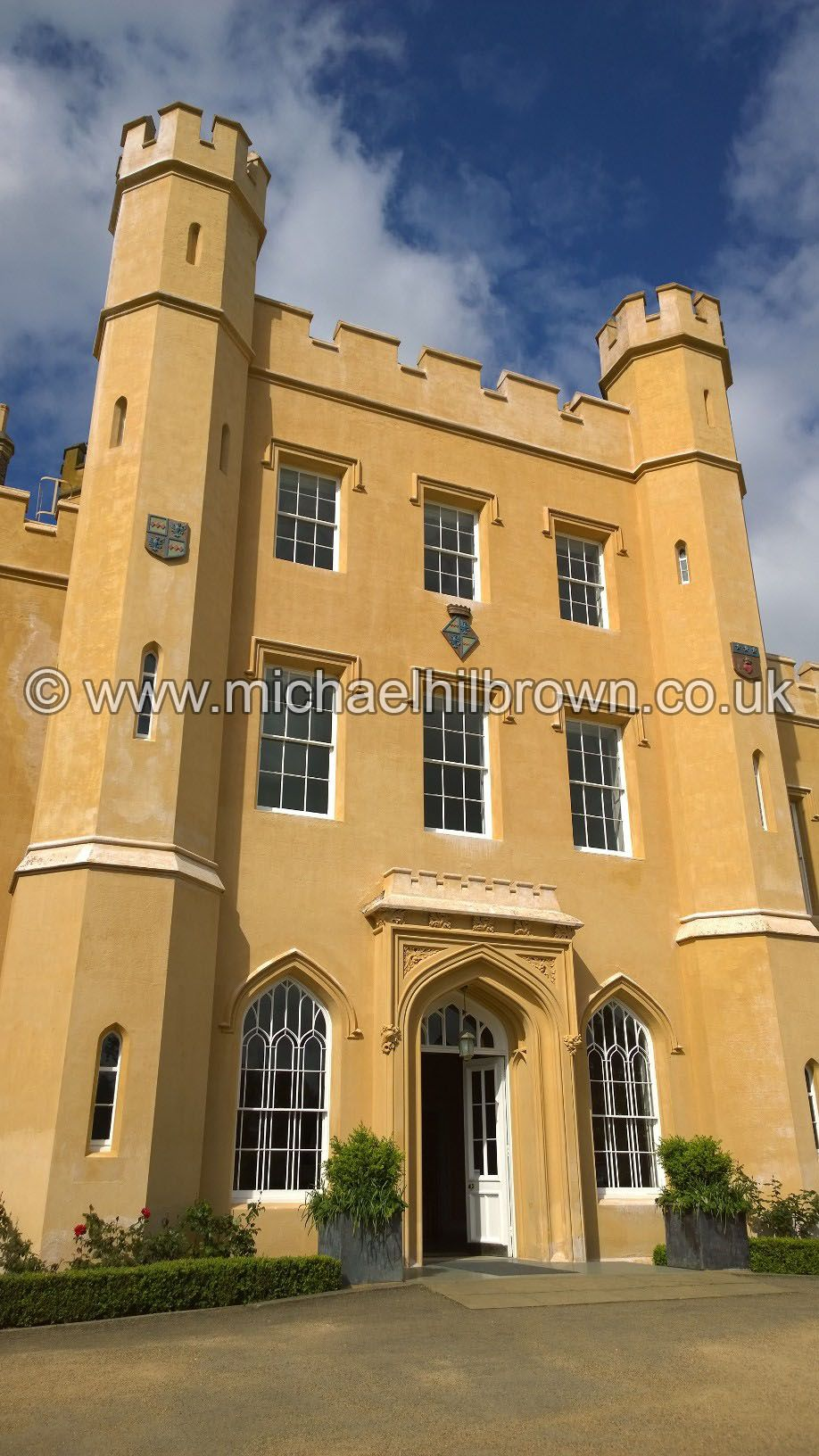 Front view of Ditton Manor - A fairytale wedding venue ...