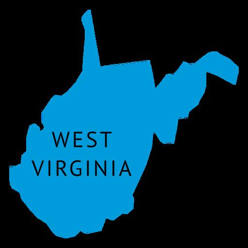 West Virginia State Shape Sticker Outline White State Shapes West Virginia Shapes