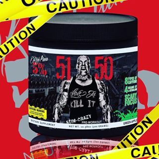 Rich Piana S 51 50 5 Of Lifters Can Handle This 12 Stimulant Jammed Pre Workout Fitfrek Stfu And Just Lift That Shit Preworkout Rich Workout Review