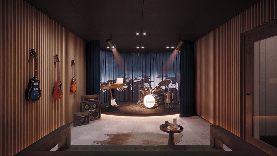 Cool nyc hot spots with their own recording studios