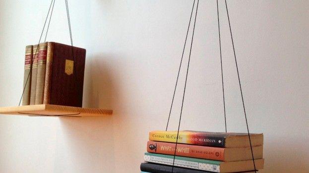 De Balance Bookshelf houdt je stapels boeken in evenwicht