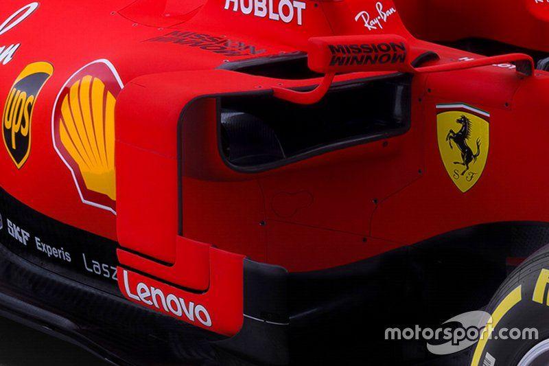 Ferrari Sf90 Detail Ferrari Ferrari F1 Motorsport
