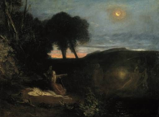 Joseph Mallord William Turner 'A Subject from the Runic Superstitions ...', exhibited 1808