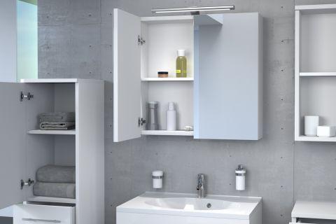 Badmobel Zarif 5tlg Hochglanz Weiss 70 Cm Waschplatz Hangeschrank Wasche Bad