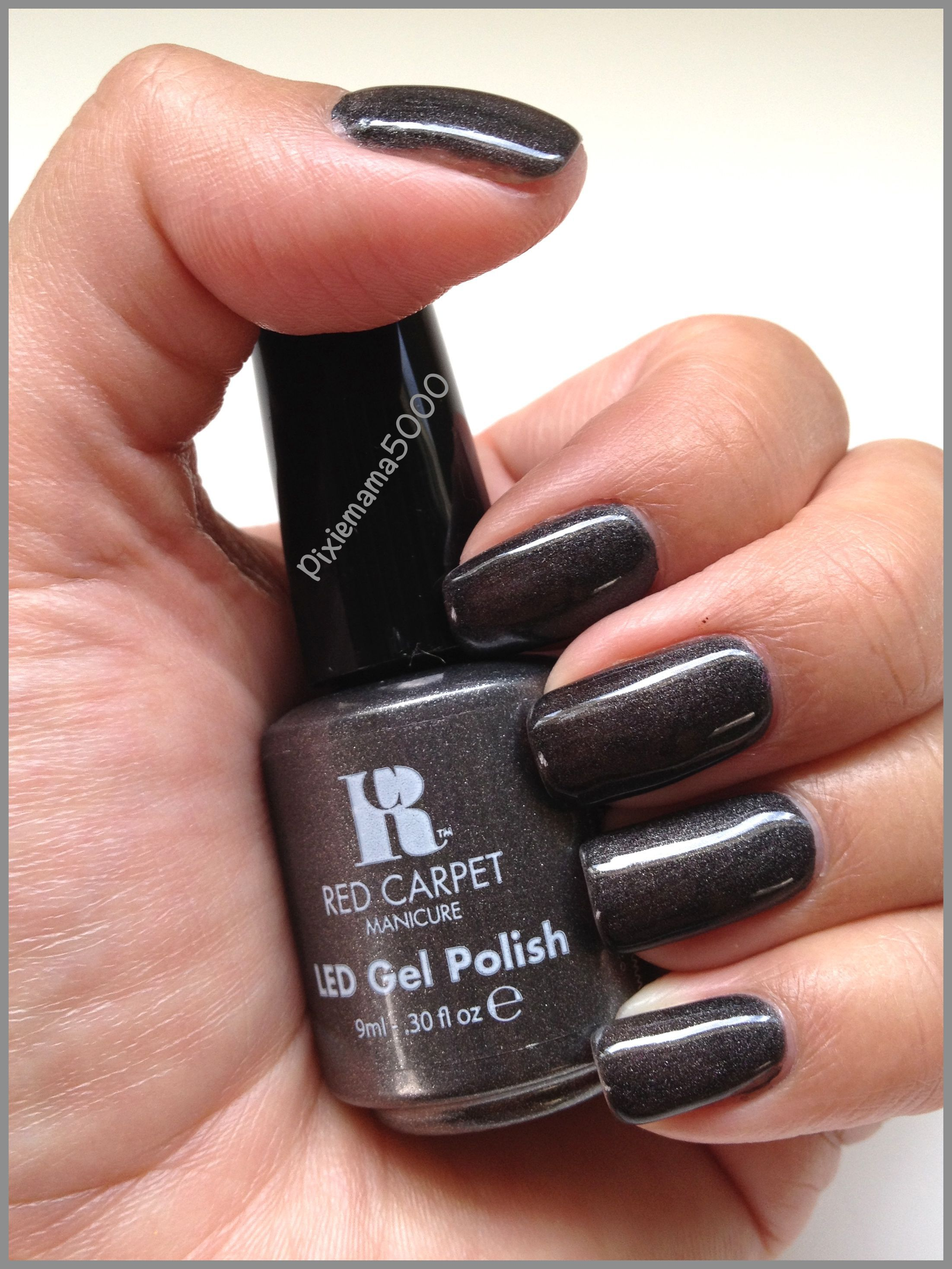 red carpet manicure The Night Is Young   Gel nail polish   Pinterest ...