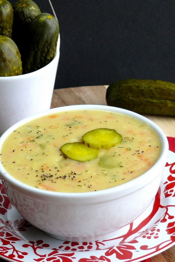 Dill Pickle Soup + VIDEO #dillpicklesoup