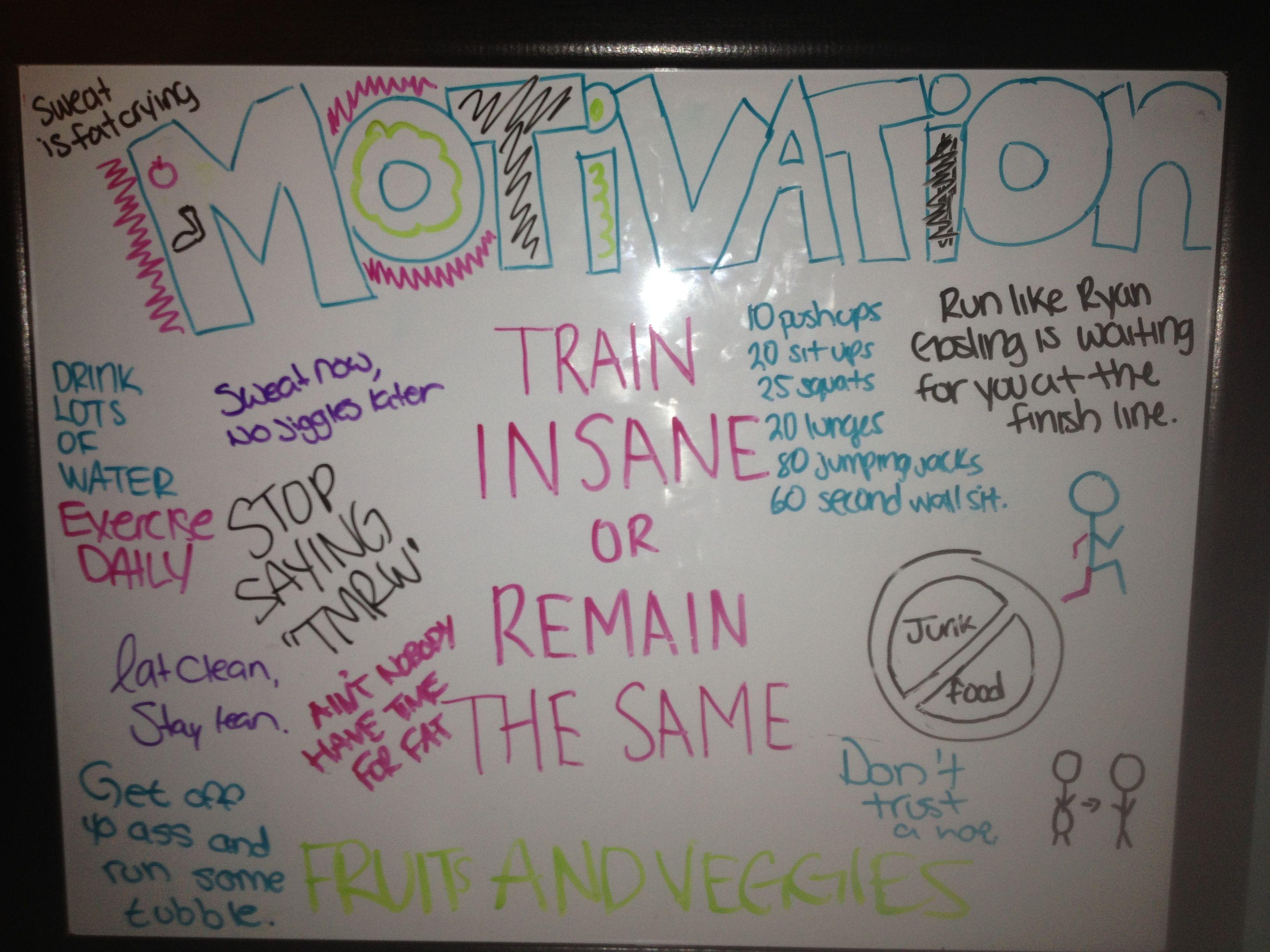 My motivation board :)