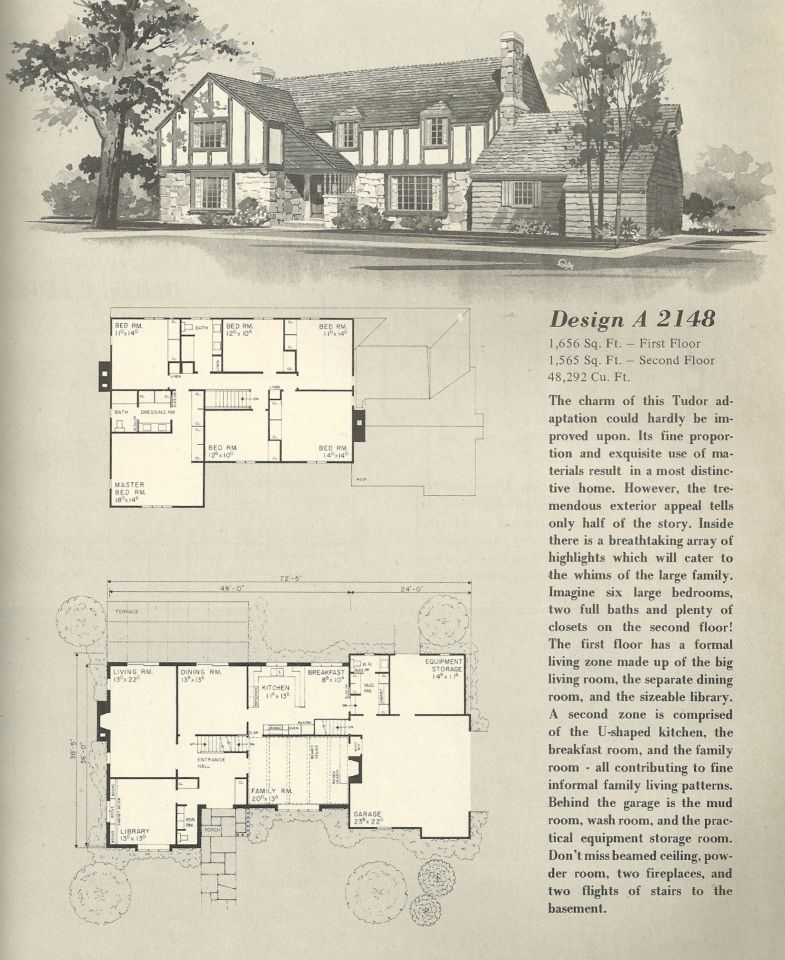 Vintage House Plans, 1970s homes, Tudor style | Vintage ... on vintage house styles, vintage floor, vintage electrical, art plans, spa plans, vintage diy, vintage house photography, vintage painting, vintage building, house plans, aviary plans, vintage blueprints, orchard plans, vintage ranch, vintage landscaping, vintage mansions, vintage luxury homes, golf plans, waterfront plans,