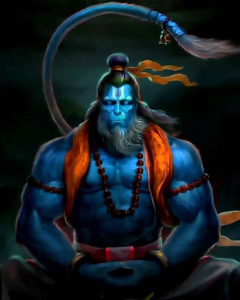 Hanuman The Hindu Monkey God Is One Of The Most Celebrated And