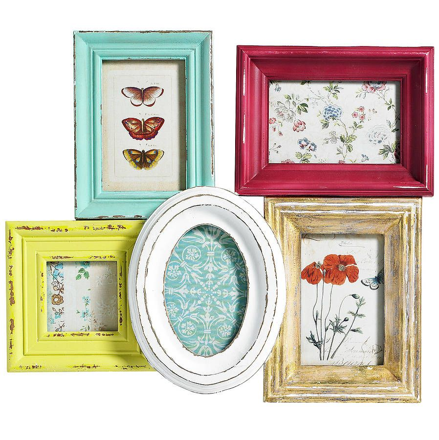 Multi picture frame multi picture frames multi picture and walls multi picture frame for wall by nordal by idea home co notonthehighstreet jeuxipadfo Images