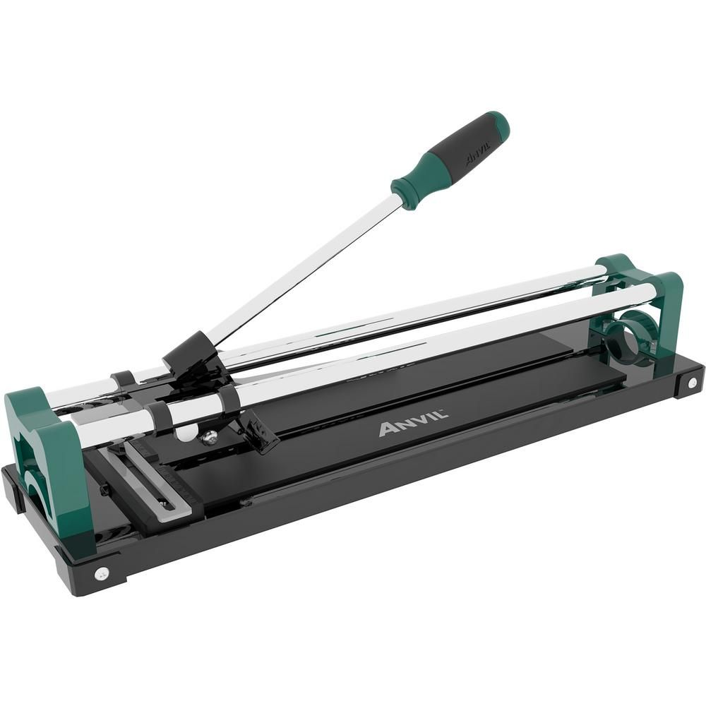Anvil 14 In Ceramic And Porcelain Tile Cutter 10214anv The Home Depot Tile Cutter Porcelain Tile Diy Tile