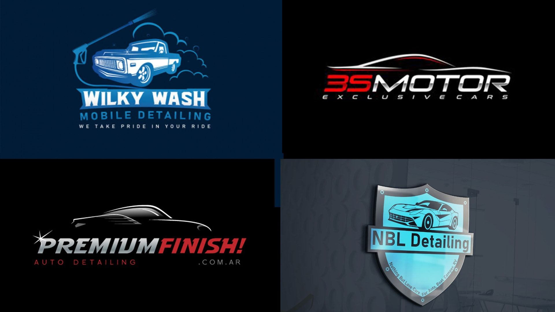 Moobadesigns I Will Do Unique Auto Detailing Automotive And Car Wash Logo For 5 On Fiverr Com Car Detailing Wash Logo Car Wash [ 1080 x 1920 Pixel ]
