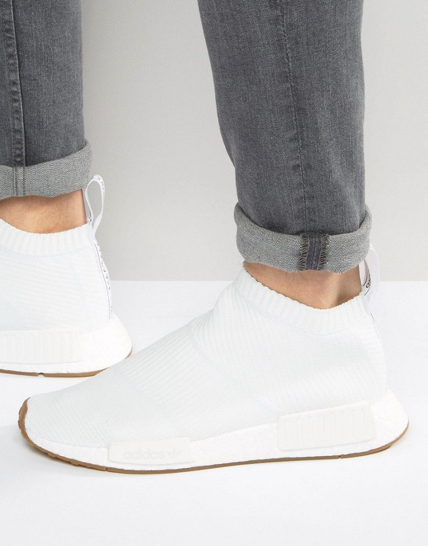 932a5efe79959 Look stunning with this adidas Originals NMD CS1 PK Sneakers In White BA7208  - White -