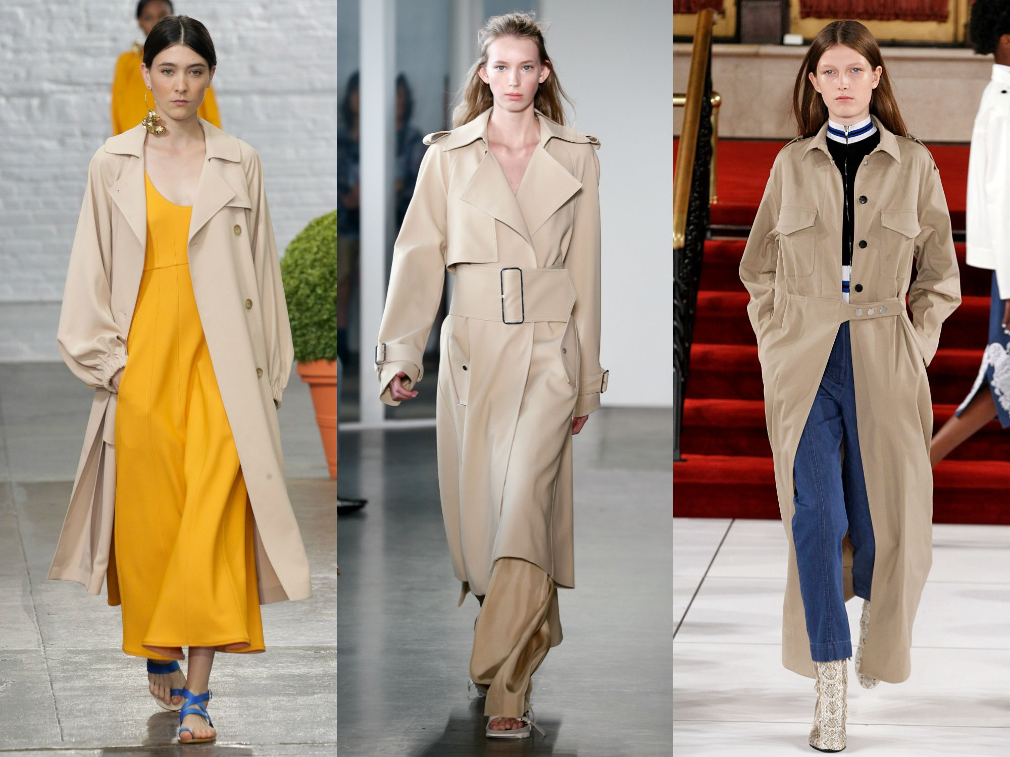 Image result for Kimono-Style Trench Coats