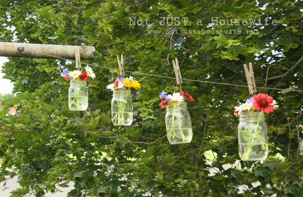 flowers-on-clothes-line