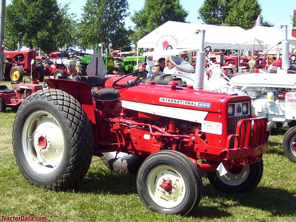 International Harvester 444 Tractor Parts : International harvester tractors made in louisville