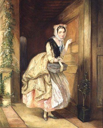 Charles Robert Leslie -- Knocking at the Door -- High quality art prints  sc 1 st  Pinterest & Charles Robert Leslie -- Knocking at the Door -- High quality art ...