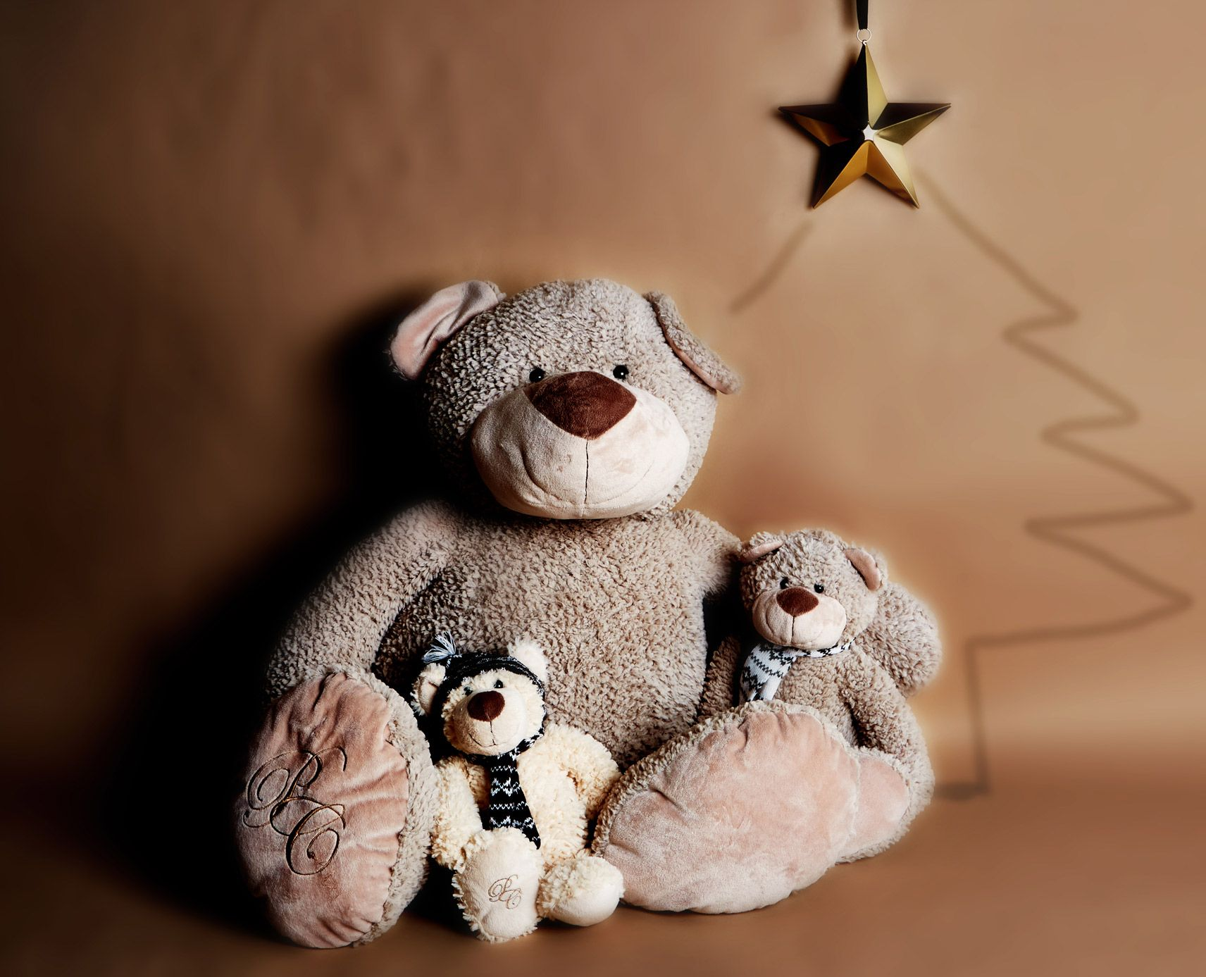 Cuddly Stuffed Bears From Paul Costelloe Living, Available