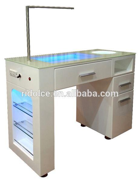 Source Manicure station Nail Technicians Salon Manicure Table TKN ...