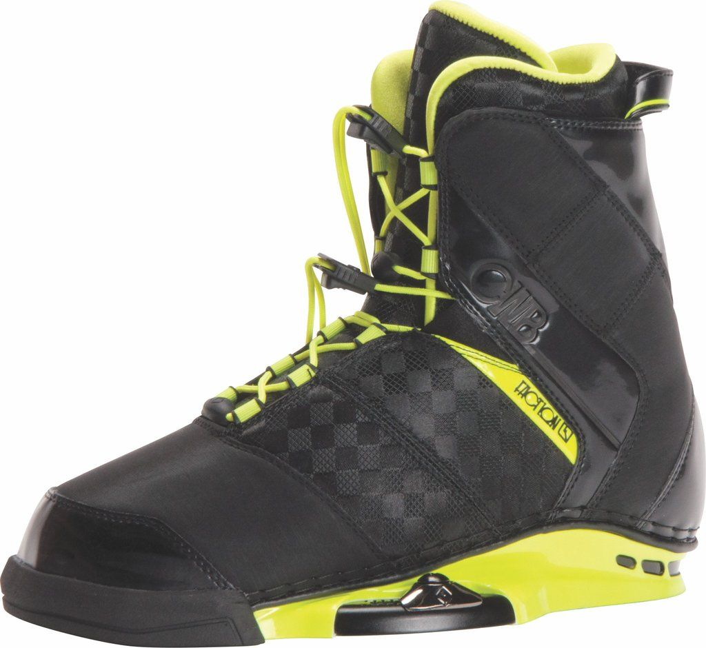 2017 CWB FACTION YELLOW WAKEBOARD BOOTS Boots