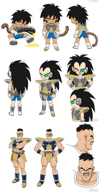 T-shirt Enfant Dragon Ball Z anime manga japan broly